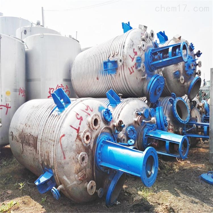 江苏工厂3吨3000升二手不锈钢反应釜处理