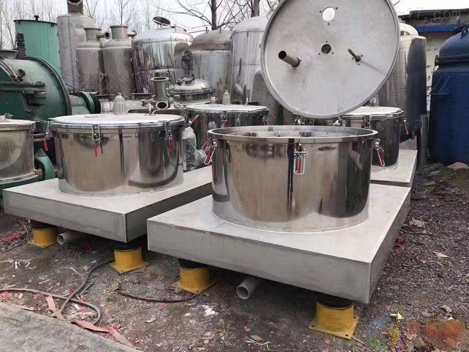 湖北工厂转让PSD1500型二手平板吊袋离心机