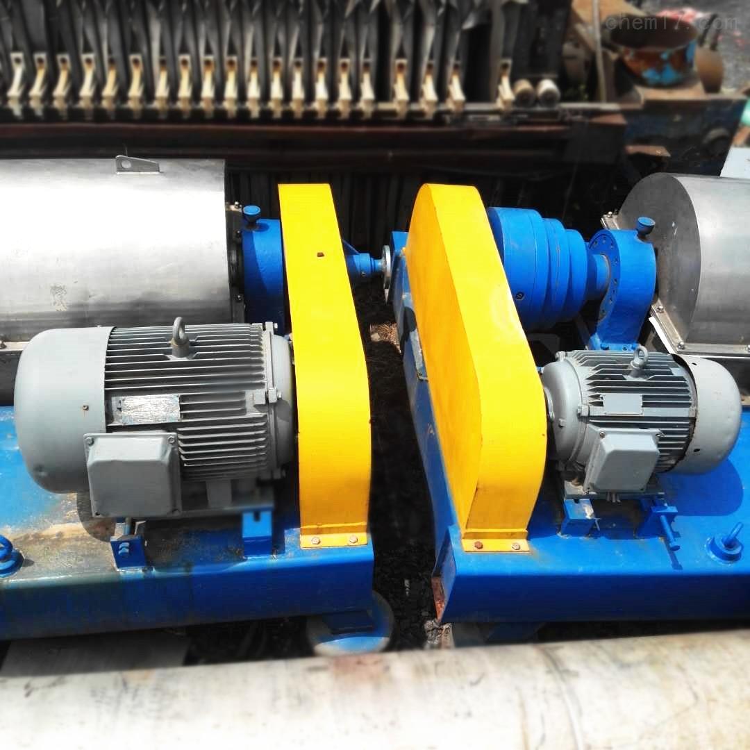 工厂LW550型二手卧螺离心机废铁价出售