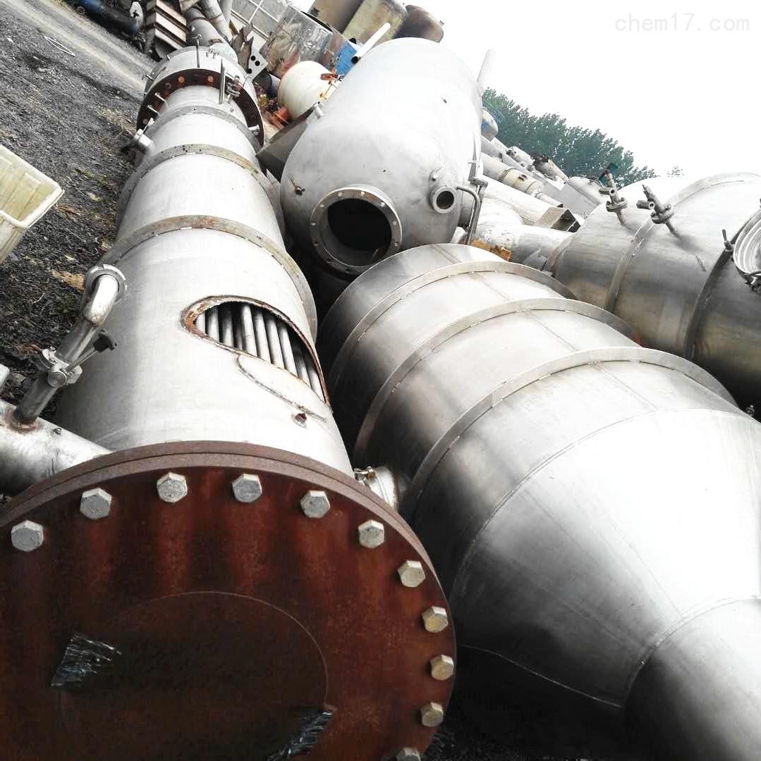 工厂转让5000升5吨二手三效降膜蒸发器