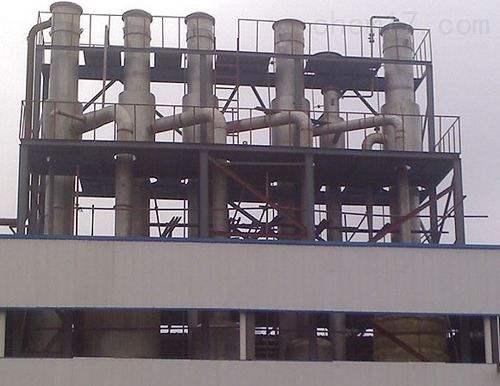 市场价回收三效钛材防腐降膜蒸发器图片