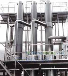 大量回收三效6噸鹽酸石墨降膜蒸發器