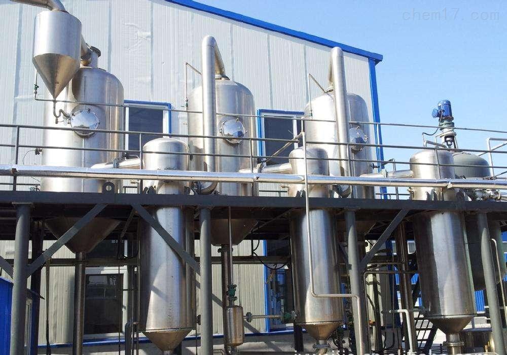 長期回收四效钛材雙相鋼降膜蒸發器