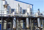 长期回收二手5吨强制外循环双效蒸发器