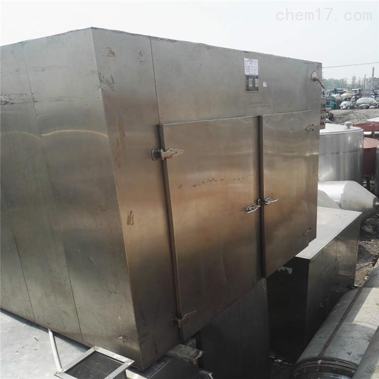 食品厂两门四车96盘二手热风循环烘箱转让