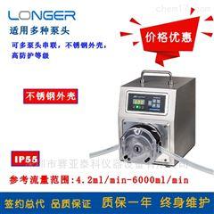 WT600-3J不锈钢外壳精密蠕动泵WT600-3J