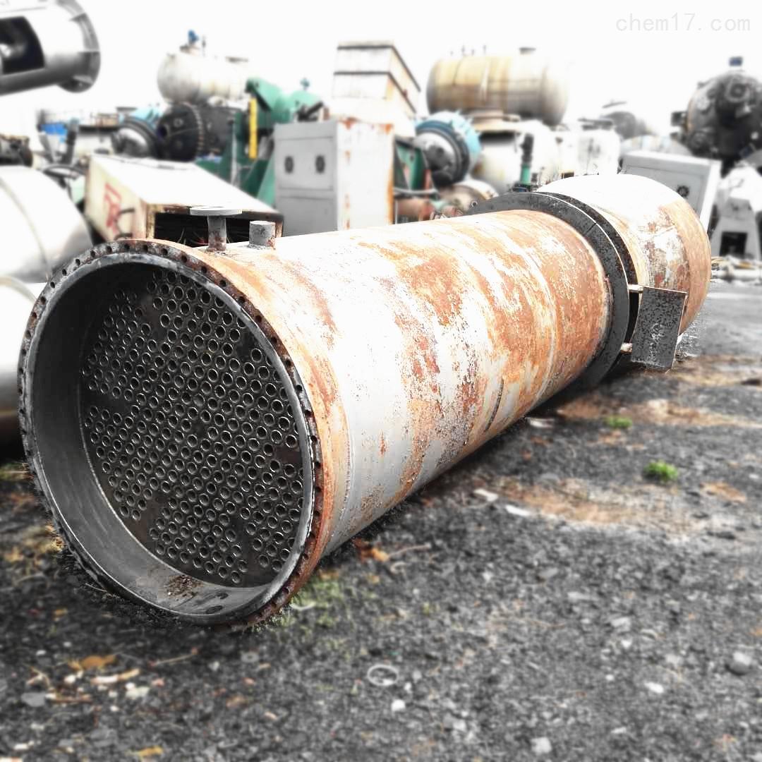 长期回收10-300平方二手不锈钢列管冷凝器