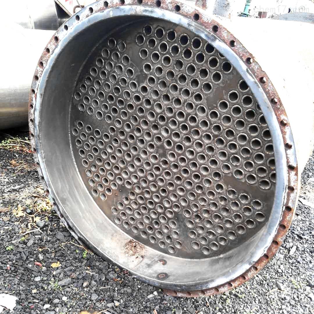 河北100平方钛材二手列管冷凝器废铁价出售