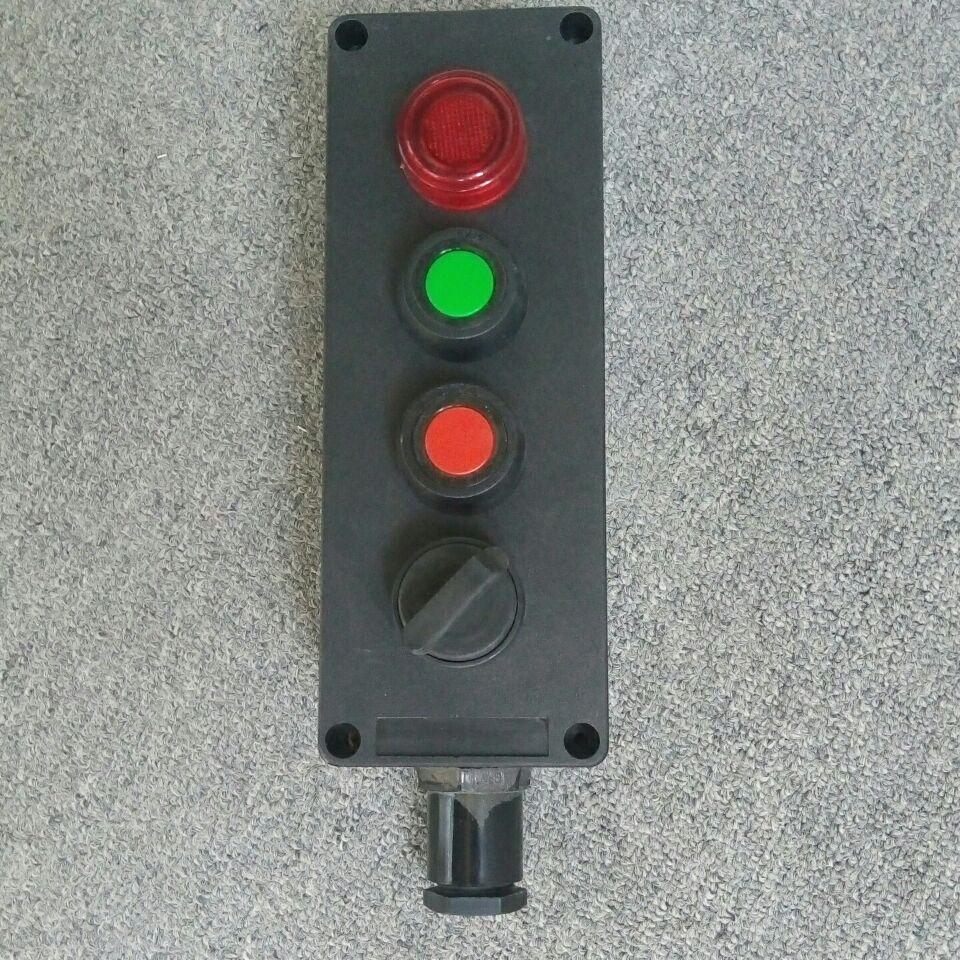 BZA8050-A2D1K1风机远程控制器防爆按钮盒EX