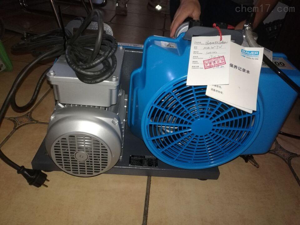 梅思安100TW型220V驅動電壓空氣壓縮機