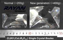 硼酸锂铯晶体
