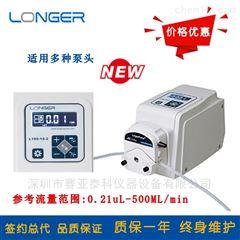 L100-1S-2标准型蠕动泵L100-1S-2 多通道数显取样泵
