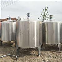 大量转让二手1000升不锈钢搅拌罐