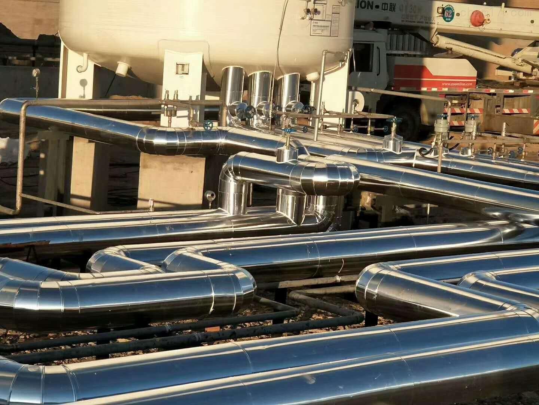 LNG天然气站管道保温施工