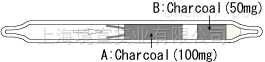 活性炭采样管 800B Charcoal tube