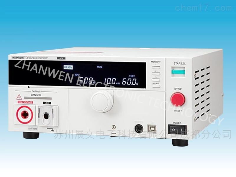日本菊水kikusui耐电压测试仪TOS5200系列