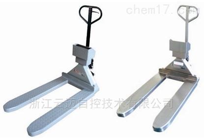 武汉不锈钢移动电子叉车秤