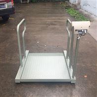 医院透析科轮椅秤/300kg轮椅车体重电子秤