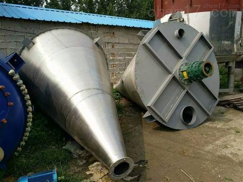 现货回收二手不锈钢双螺旋锥形混合机