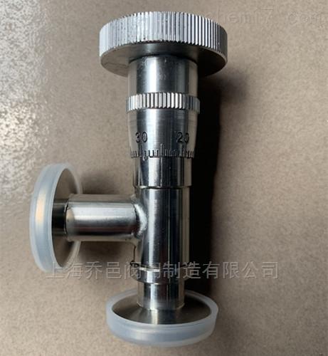 高真空微調閥GW-J-T真空針閥