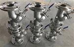 GL41W不銹鋼帶排污口Y型過濾器
