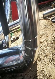 衡水 管道铁皮保温 铝皮管道保温施工