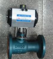 QJ641M气动一体式高温球阀厂家