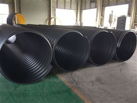 大口径钢带管 工业排污钢带波纹管
