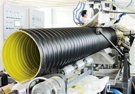 DN800排污钢带管 PE钢带波纹管
