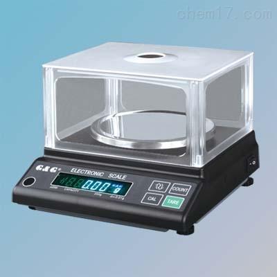 双杰JJ600电子天平600g/0.01g电脑通讯
