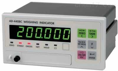 日本AND控制器AD-4408C配CC-Link接口显示器