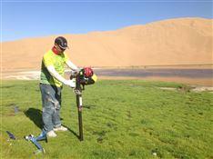 单人便携式原状土壤取样钻机