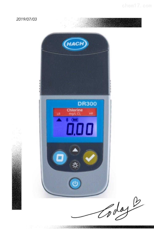 哈希便携式余氯测试仪DR300