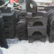 吉林空调管道木托 固定管道U型管卡厂家供货