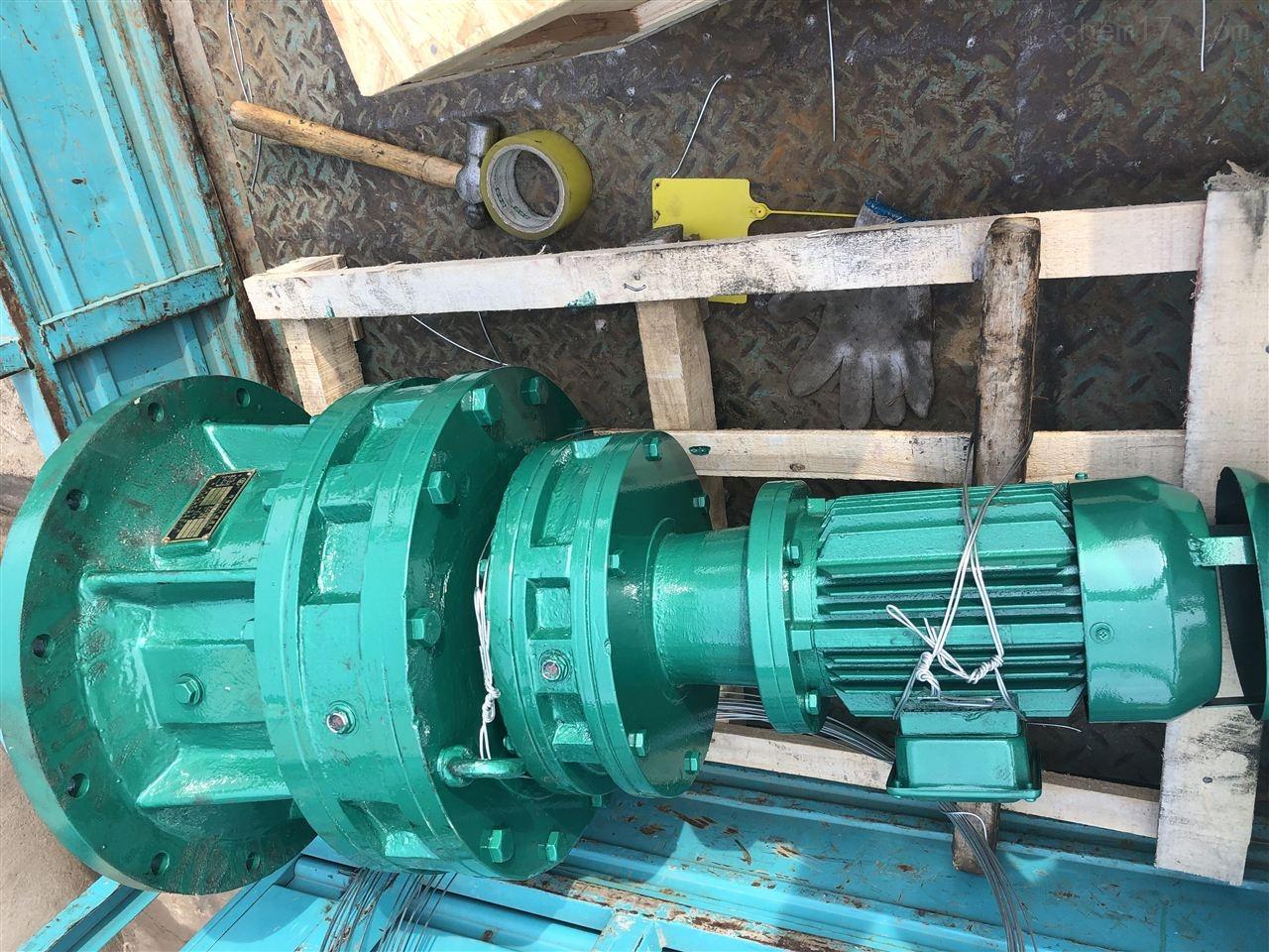 立式搅拌:BLED85-841-1.5KW摆线针轮减速机