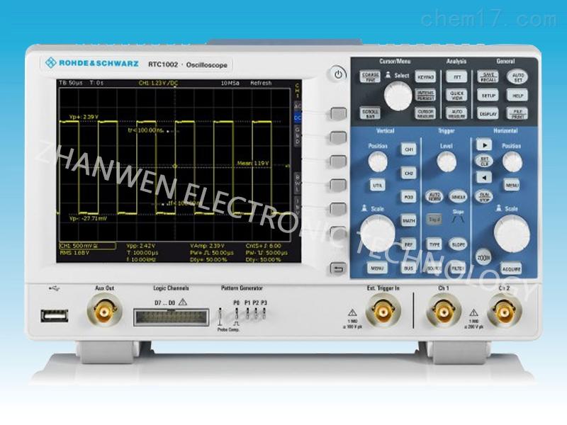 德国RS罗德与施瓦茨示波器RTC1000系列