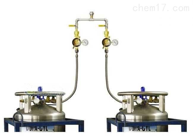 杜瓦瓶集中供氣系統