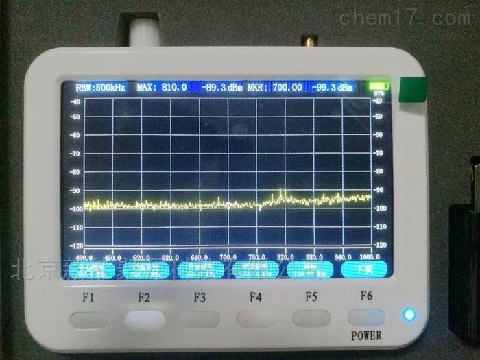 聚源XN-322便攜式3GHz手持頻譜儀