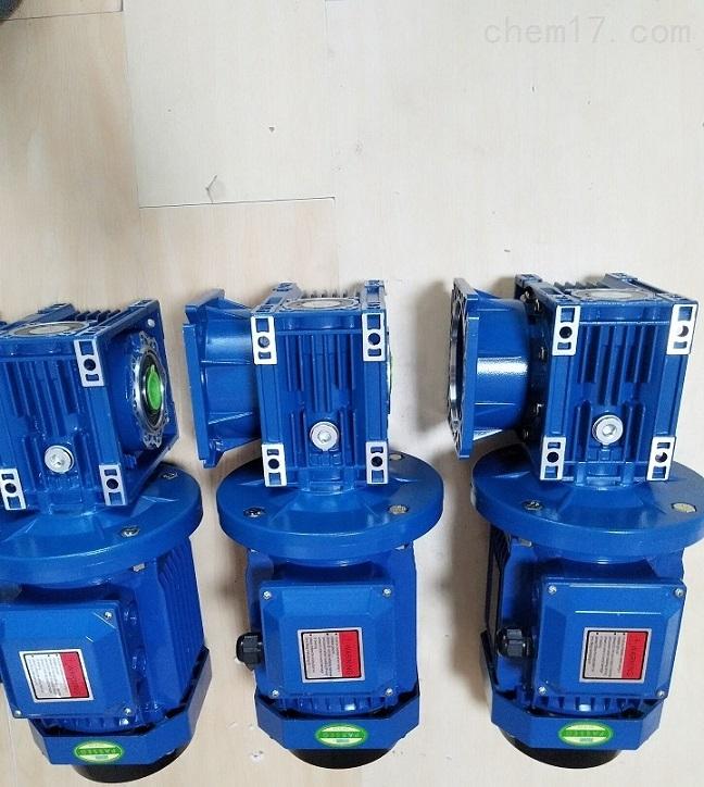 蓝色方壳RV075/80-0.75KW蜗轮减速电机