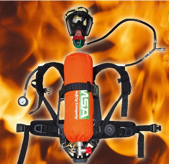 梅思安AG2100抬頭顯示消防正壓空氣呼吸器