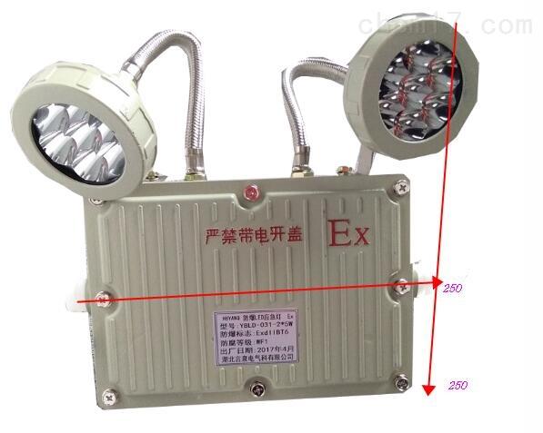 BCJ52-B停电自动点亮LED2*3W防爆双头应急灯