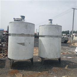二手5吨不锈钢搅拌罐