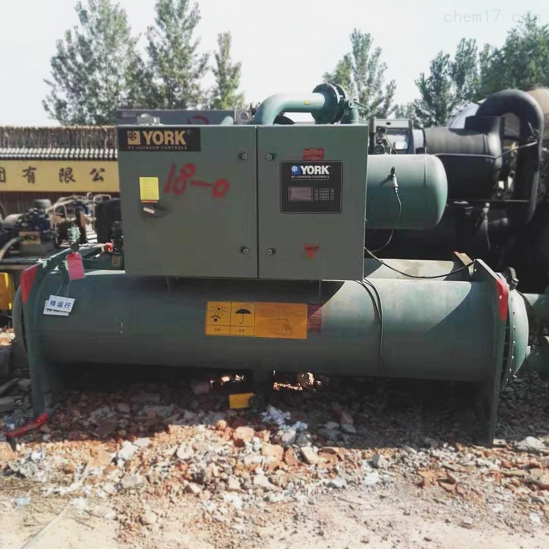 国鑫出售346千瓦约克二手冷水机组