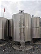 轉讓二手5立方8000L洗潔精攪拌罐價格低