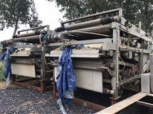 环保用泥浆脱水二手带式压滤机回收