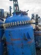 二手2立方不銹鋼高壓反應釜專業回收