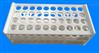 PVFE耐酸碱塑料试管架(可定制)
