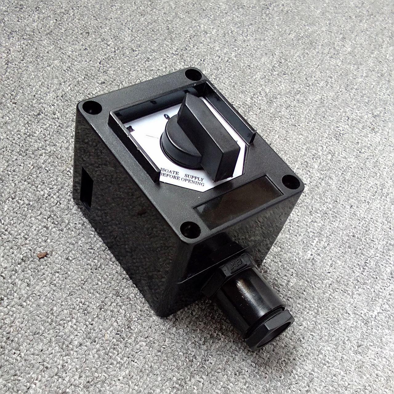 江苏ZXF8030-10A防爆灯照明单控开关盒