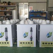 緩釋消毒器 農村飲用水管道消毒設備