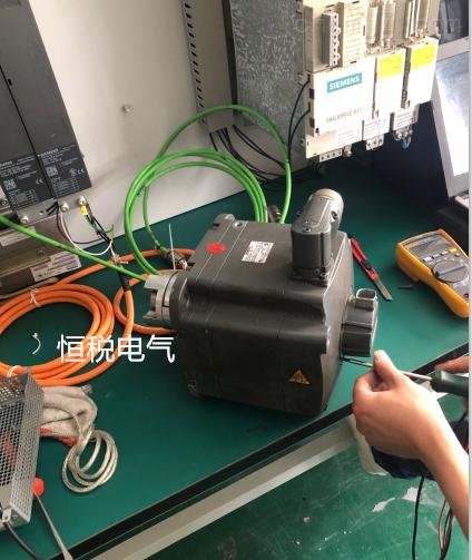 西门子伺服电机故障值F31813诊断修理